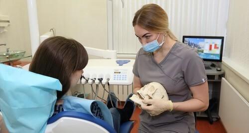 Обследование и консультация у стоматолога-гнатолога